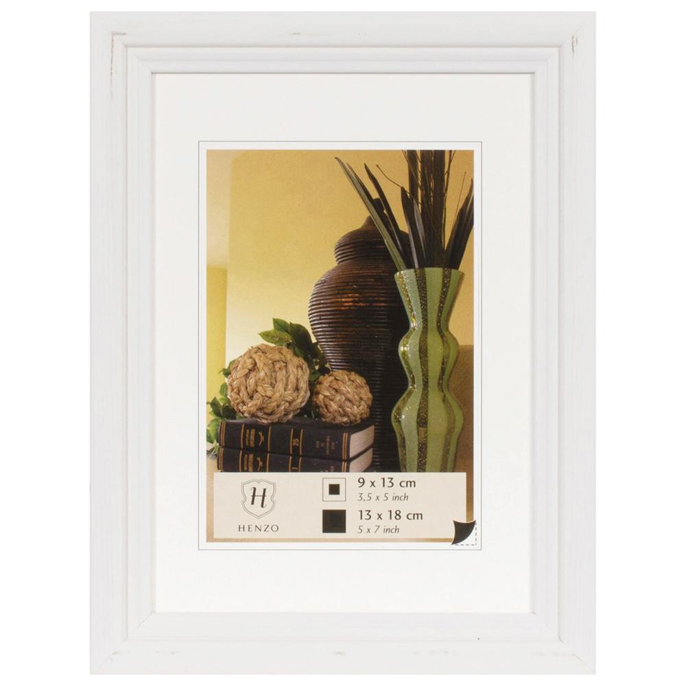 Cornice in legno Artos 10x15 cm (7x10 cm) | bianco | vetro standarde