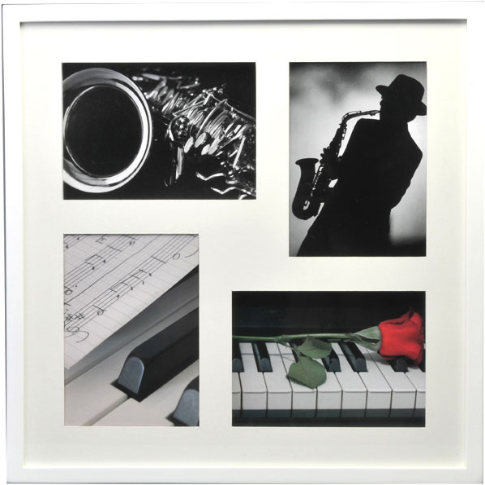 Cornice galleria Piano per 4 immagini