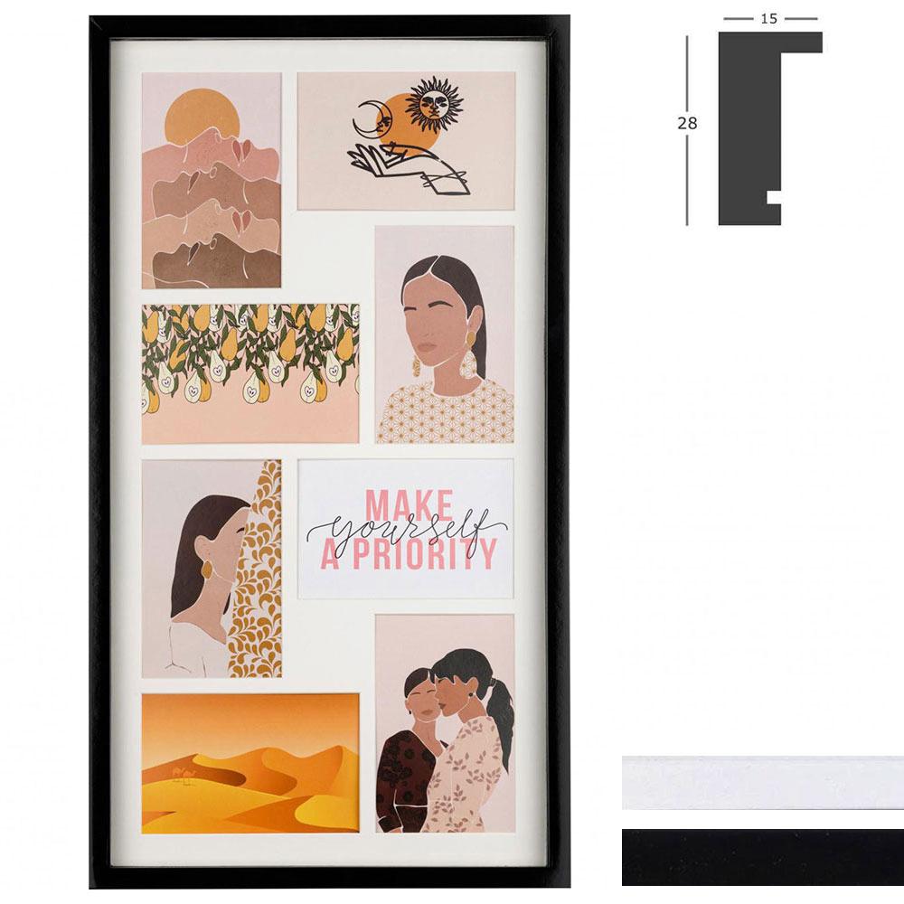Cornice galleria Piano per 8 immagini