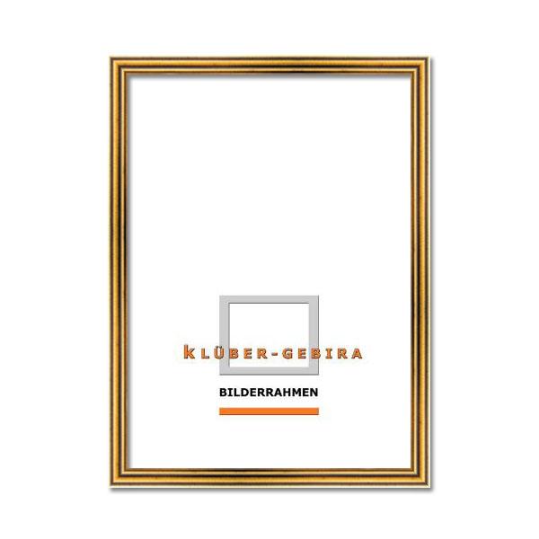 Cornice in legno Terrassa 20x30 cm | oro vecchio | vetro artificiale