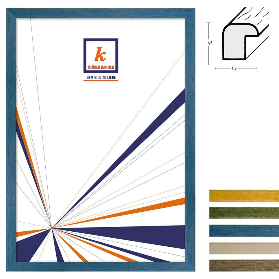 Cornice in legno Arico 20x30 cm | a righe, avorio | vetro normale