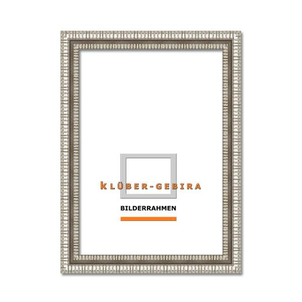 Cornice barocca Arona 30x40 cm | argento | Vetro standard