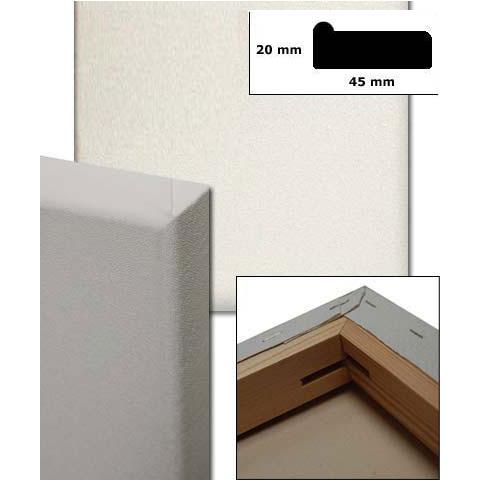 Listello con tavola, profilo 4,5x1,9 cm su misura