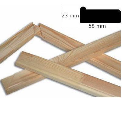 Listelli 5,8x2,3 cm 30x40 cm | legno di pino