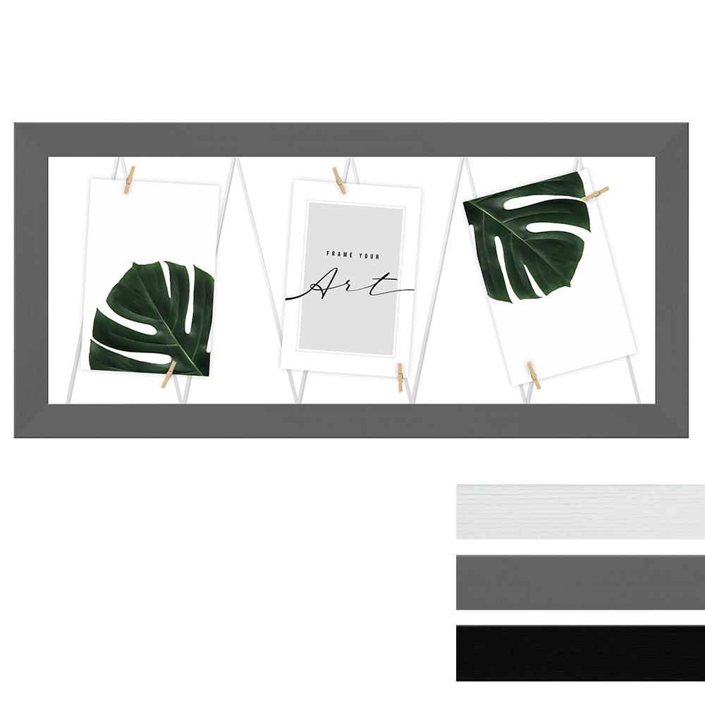 Portafoto multiplo con cordicella per 4 immagini