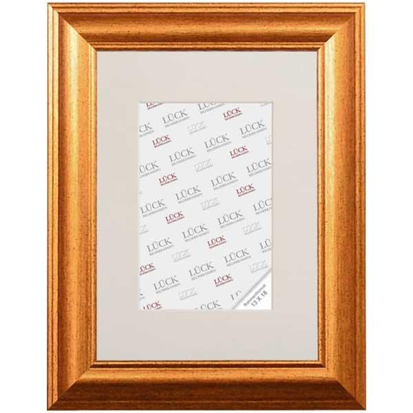 Cornice di plastica Wallhausen 7x10 cm | oro | vetro standarde