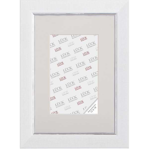 Cornice di plastica Egesheim 42x59,4 cm (A2) | bianco | vetro standarde