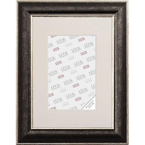 Cornice di plastica Tannheim 10x15 cm | nero | vetro normale