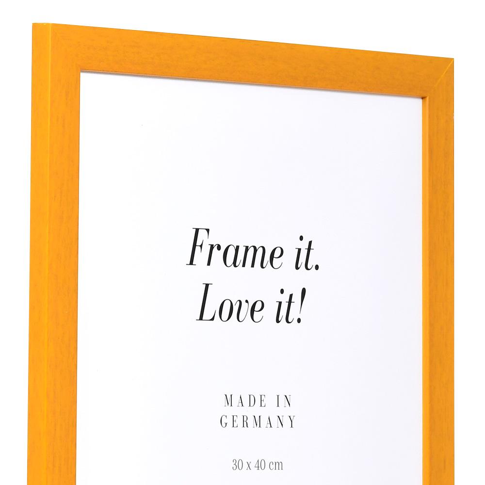 Cornice in legno Top Pro 10x15 cm | marrone chiaro | vetro standarde