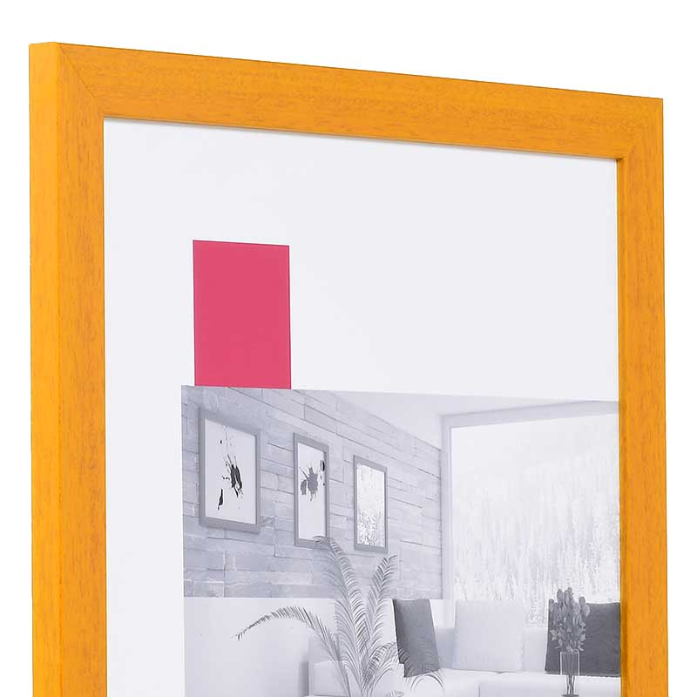 Cornice in legno Top Pro 10x15 cm | Marroncino | Vetro standard
