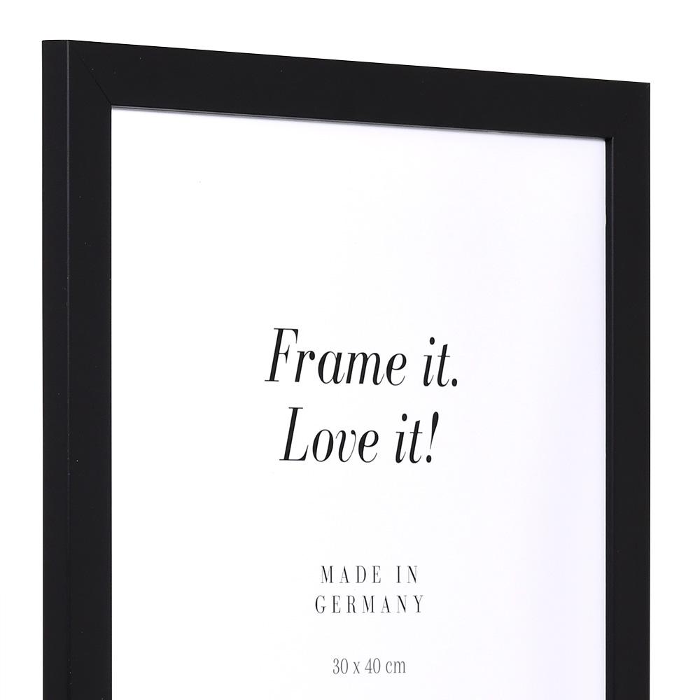 "Cornice in offerta ""Top Pro"" 10x15 cm | nero | vetro standarde"