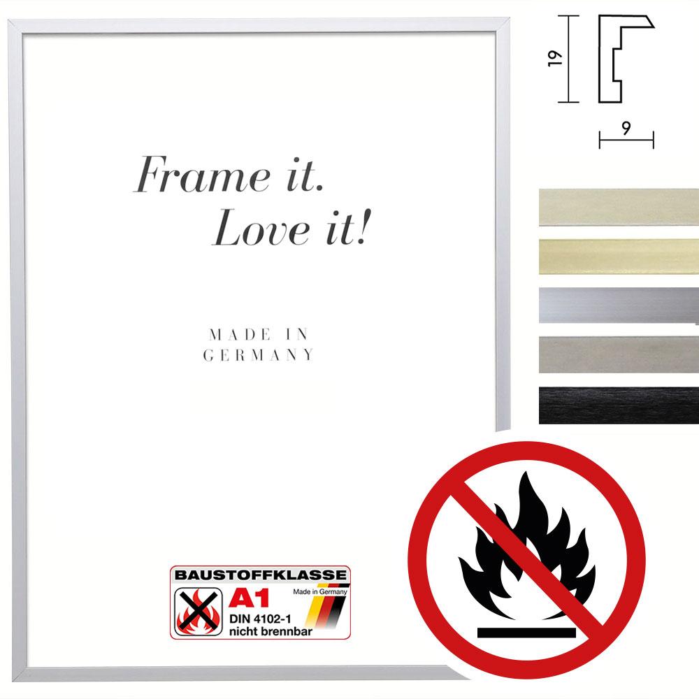 Cornice ignifuga Econ angolare, certificata resistenza al fuoco classe A1