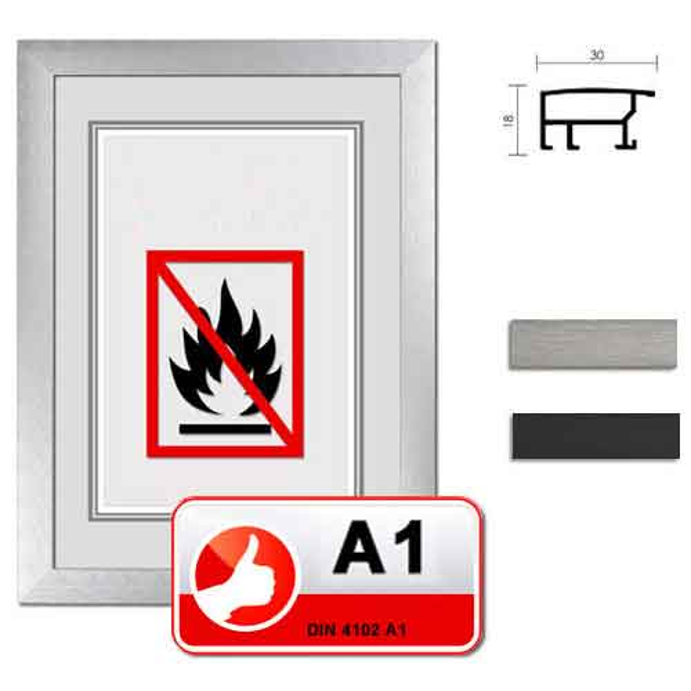 """Classe standard A1 protezione fuoco """"Econ largo"""""""