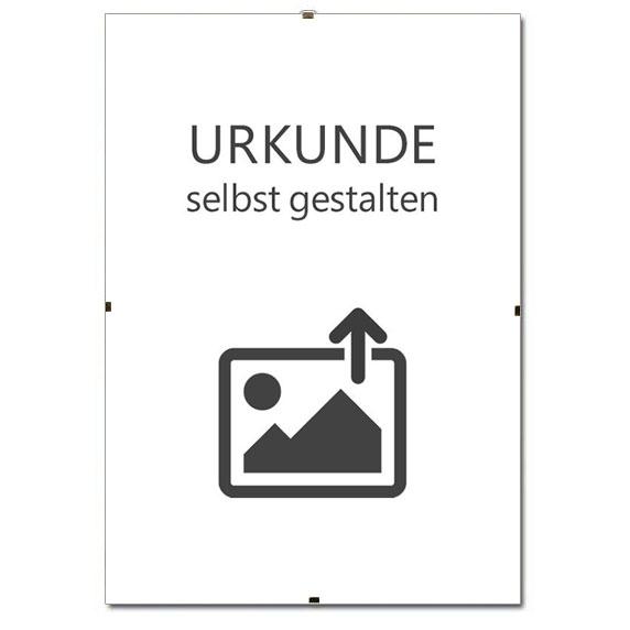 Supporto immagine senza cornice per certificati
