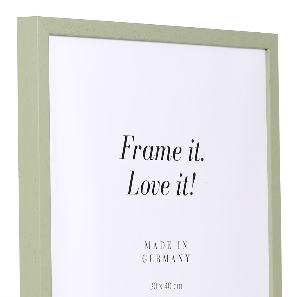 Cornice in legno Burgund 15x20 cm | verde | vetro standarde