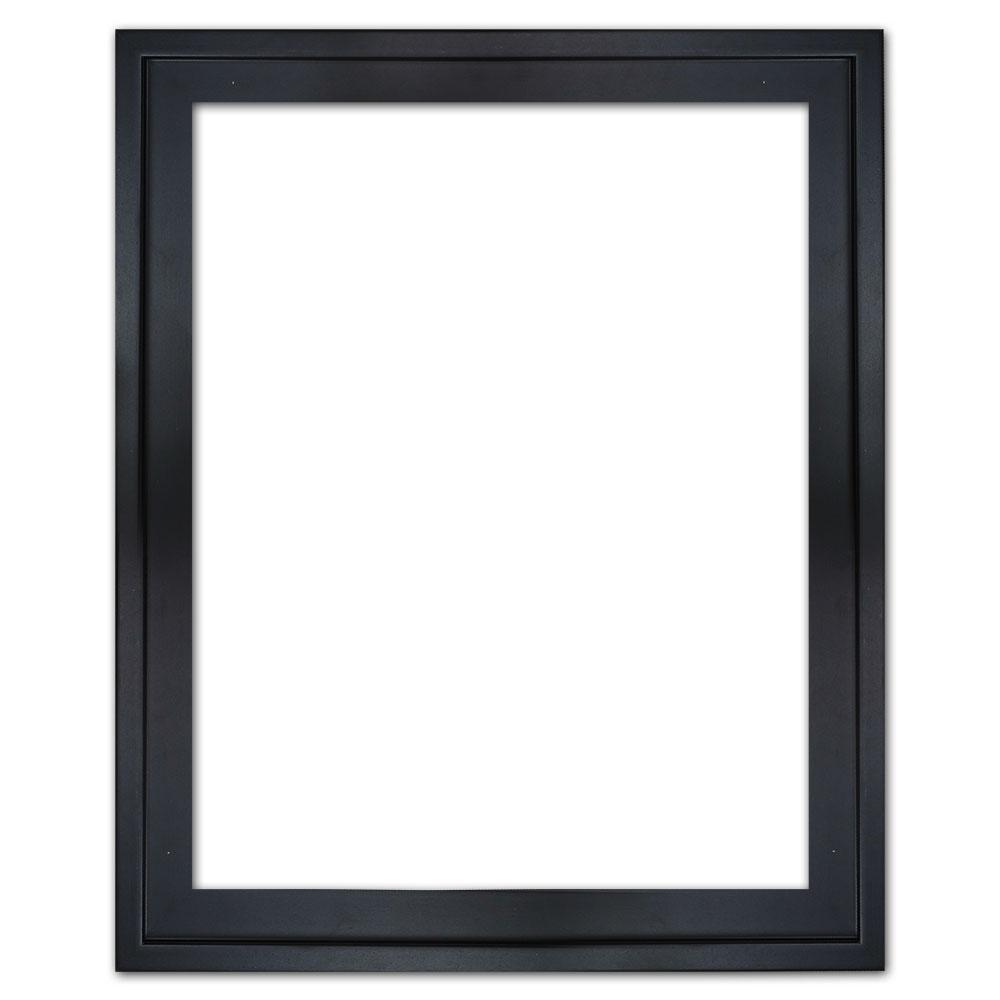 Cornice a cassetta americana Eclipse, nera 20x20 cm   nero   senza vetro e senza pannello posteriore
