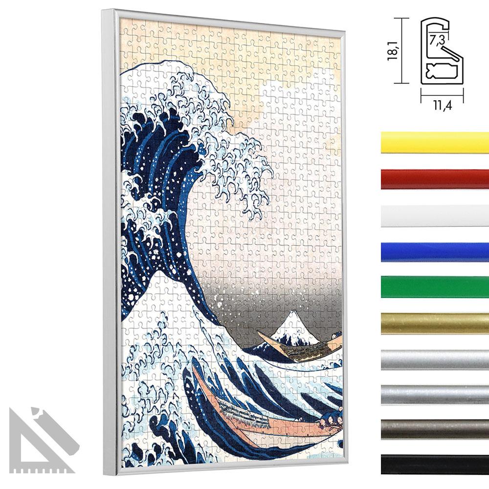 Cornice per puzzles in plastica - formato speciale fino a massimo 100x100 cm