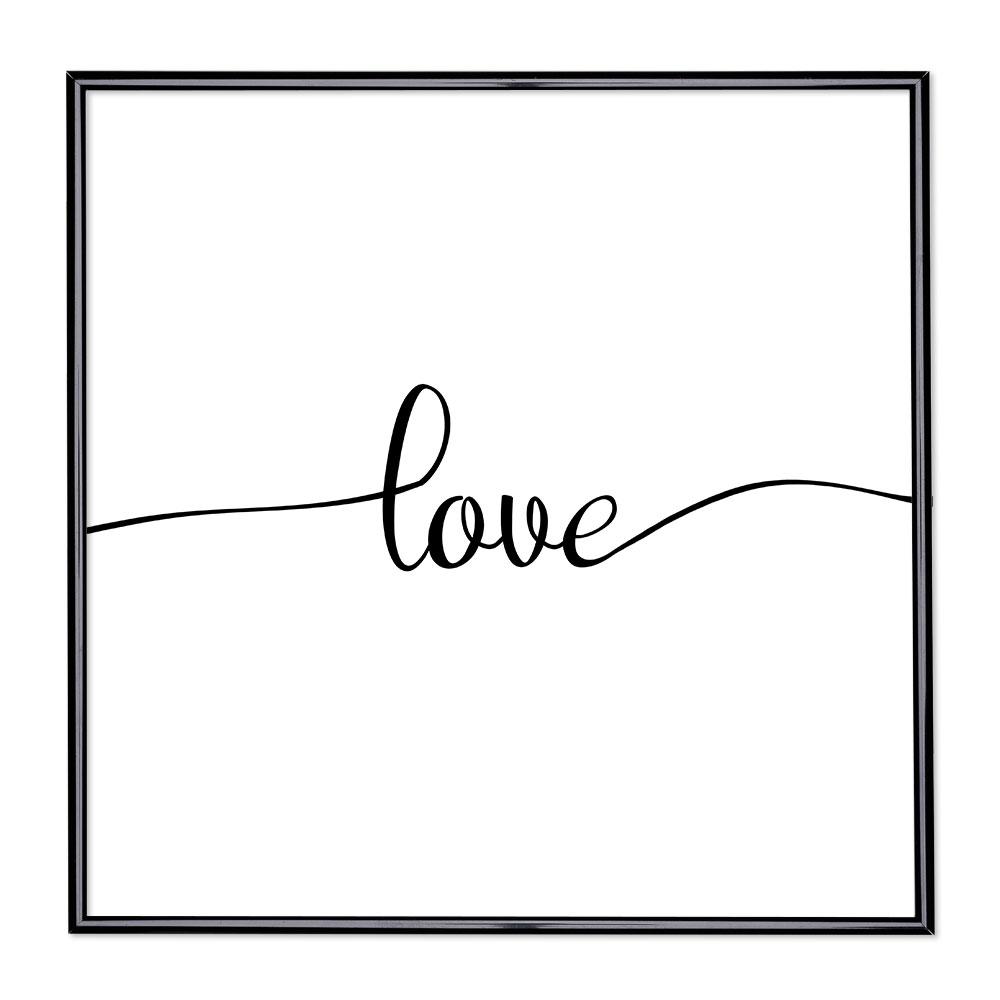 Scritta incorniciata Love 1