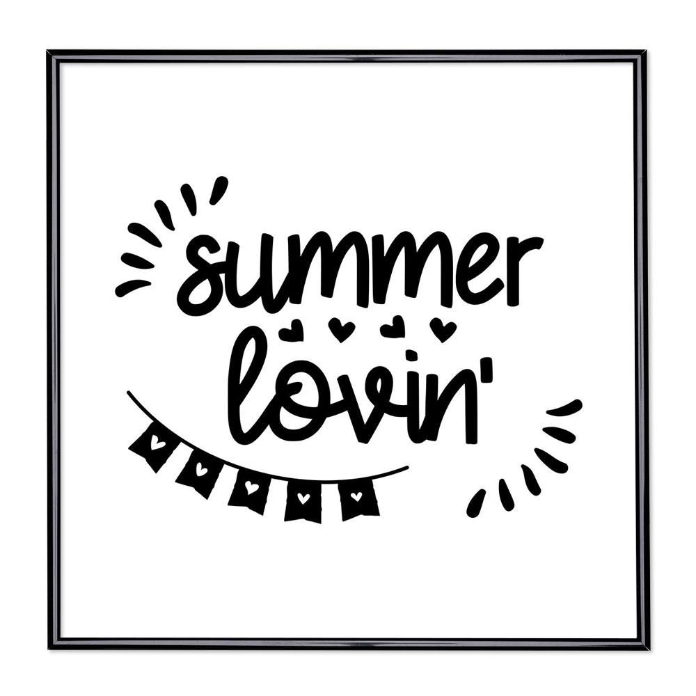 Scritta incorniciata Summer Lovin