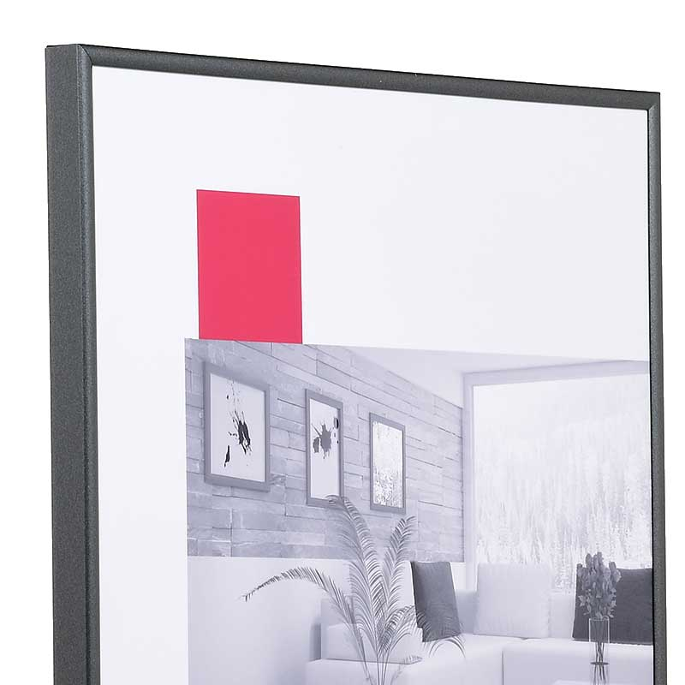 Cornice ART 30x40 cm | Grigio antracite | Vetro standard