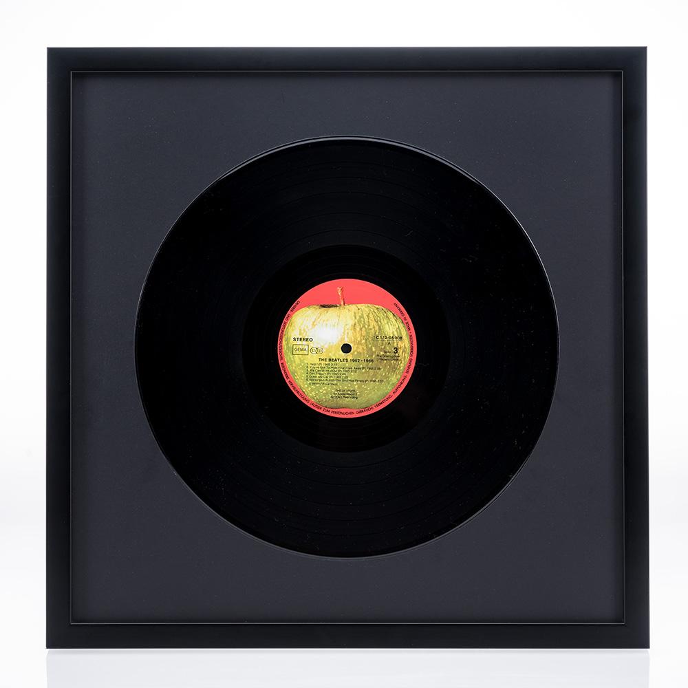 """Cornice in legno """"Figari"""" per dischi vinile"""