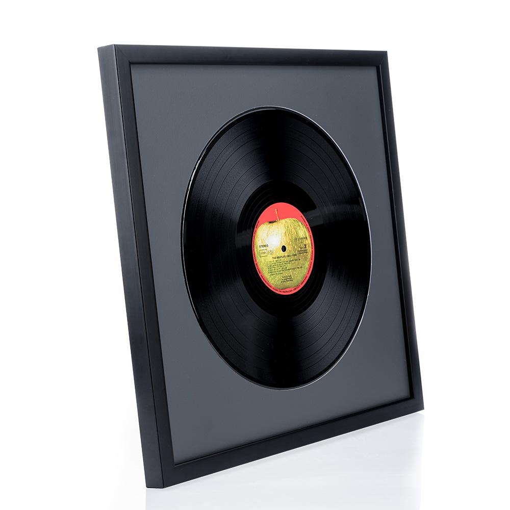 """Cornice in legno """"Top Cube"""" per dischi vinile"""