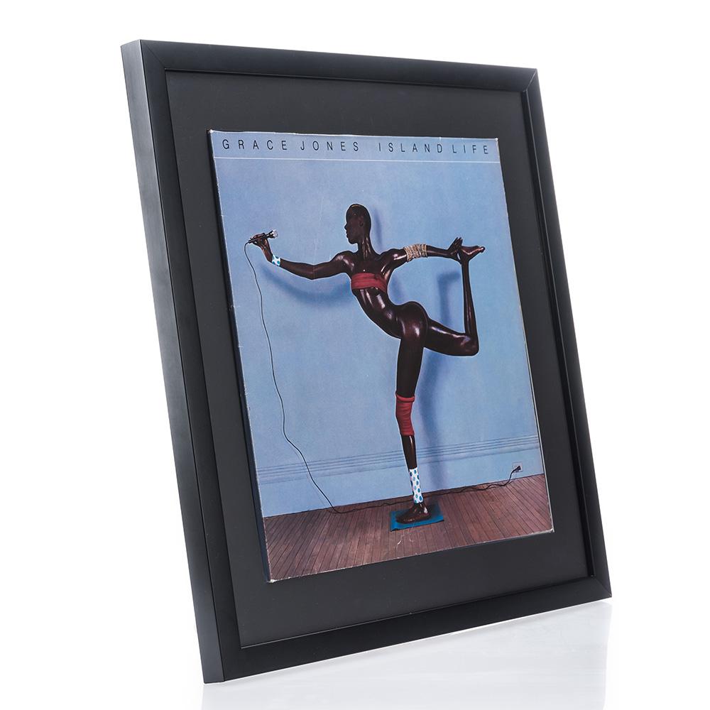 Cornice in legno Top Cube per dischi vinile con copertina