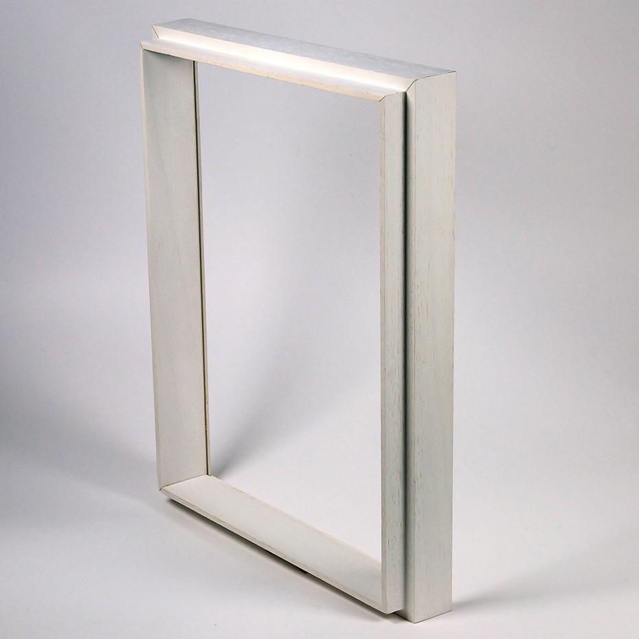 Set aggiuntivo Unibox 20x30 cm | bianco | cornice senza vetro e supporto sul retro