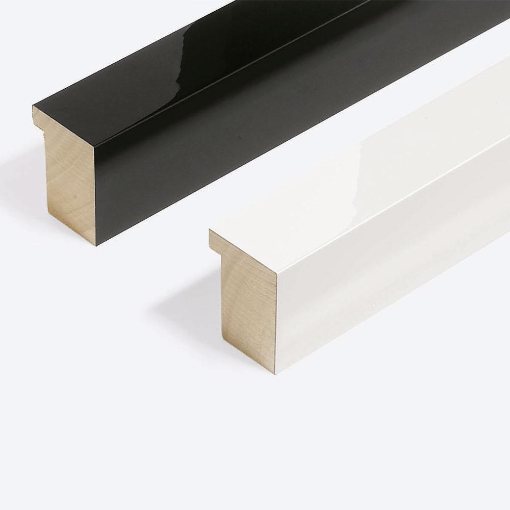 Cornice in legno su misura, Matrix B&W 39