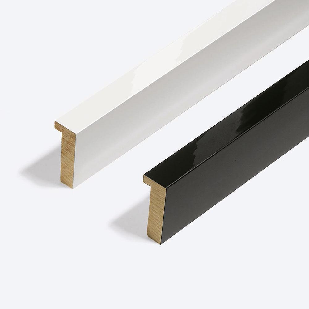 Cornice in legno su misura, Matrix B&W 20x52