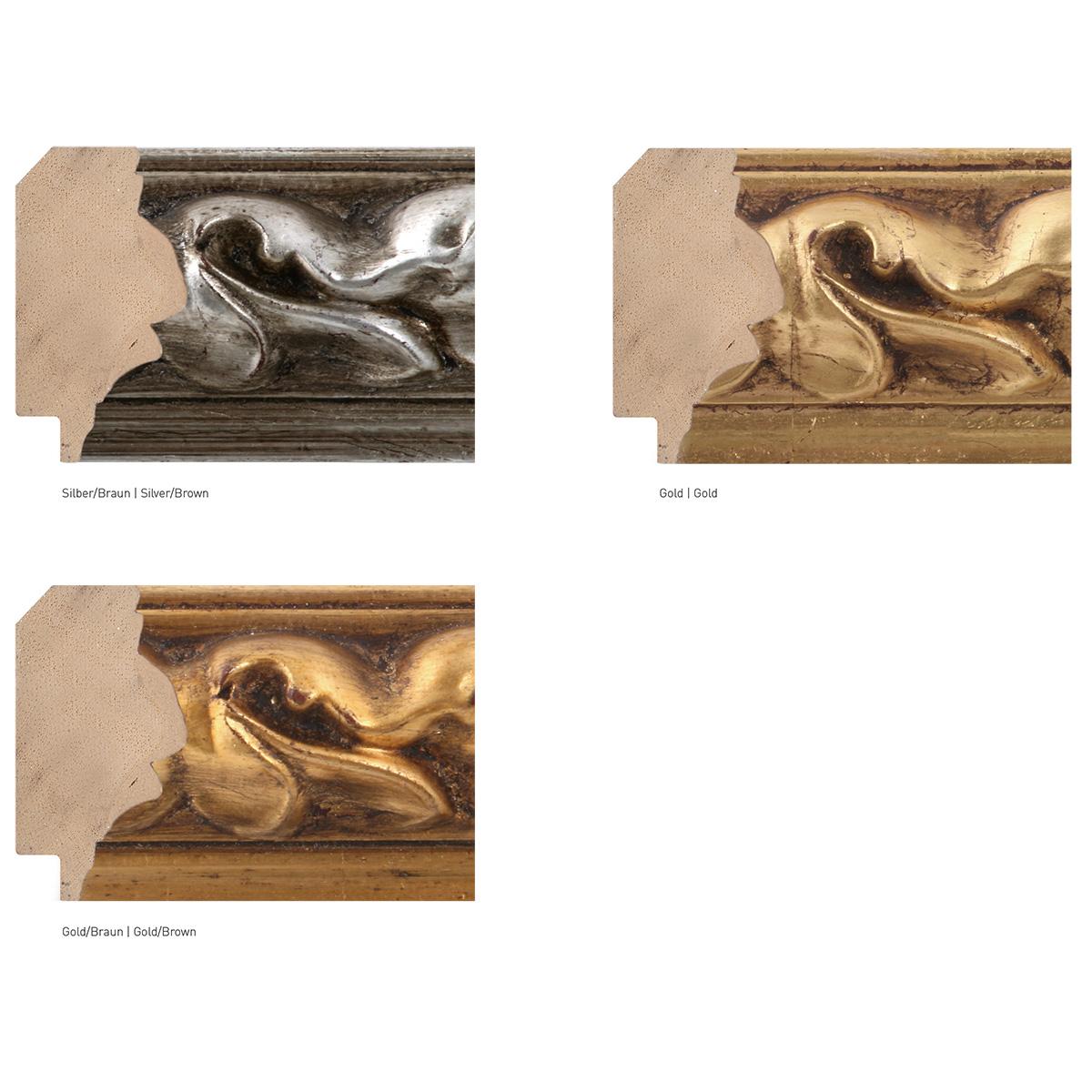 Cornice in legno su misura, Medusa 55