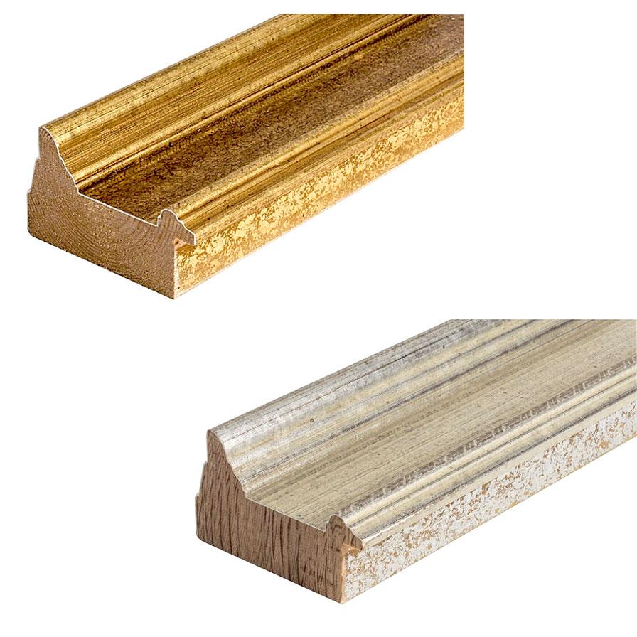 Cornice in legno su misura, Vienna 72