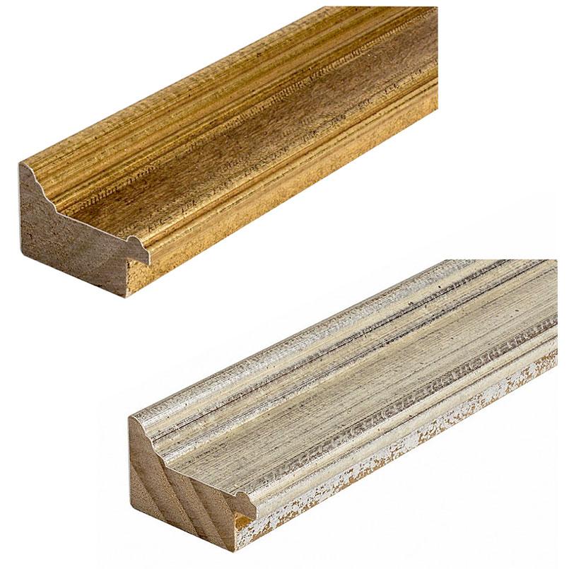 Cornice in legno su misura, Vienna 50