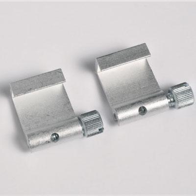 50 pezzi ganci in alluminio (portata massima 5 kg)