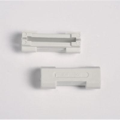 2 pezzi connessioni sbarra 2 Schienenverbinder