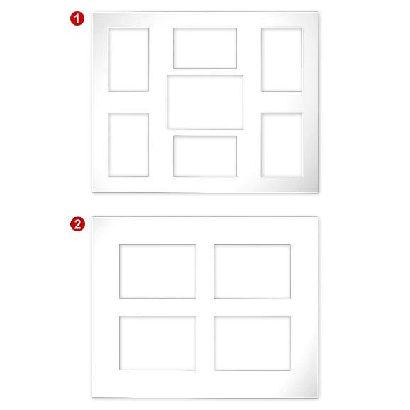 Passe-partout gallerias 2,5 mm, Formato esteriore 40x50