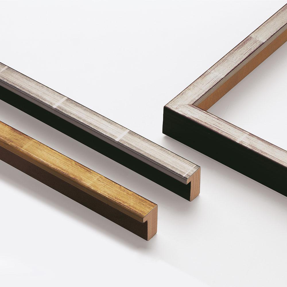 Cornice in legno su misura, Guazzo 20x35