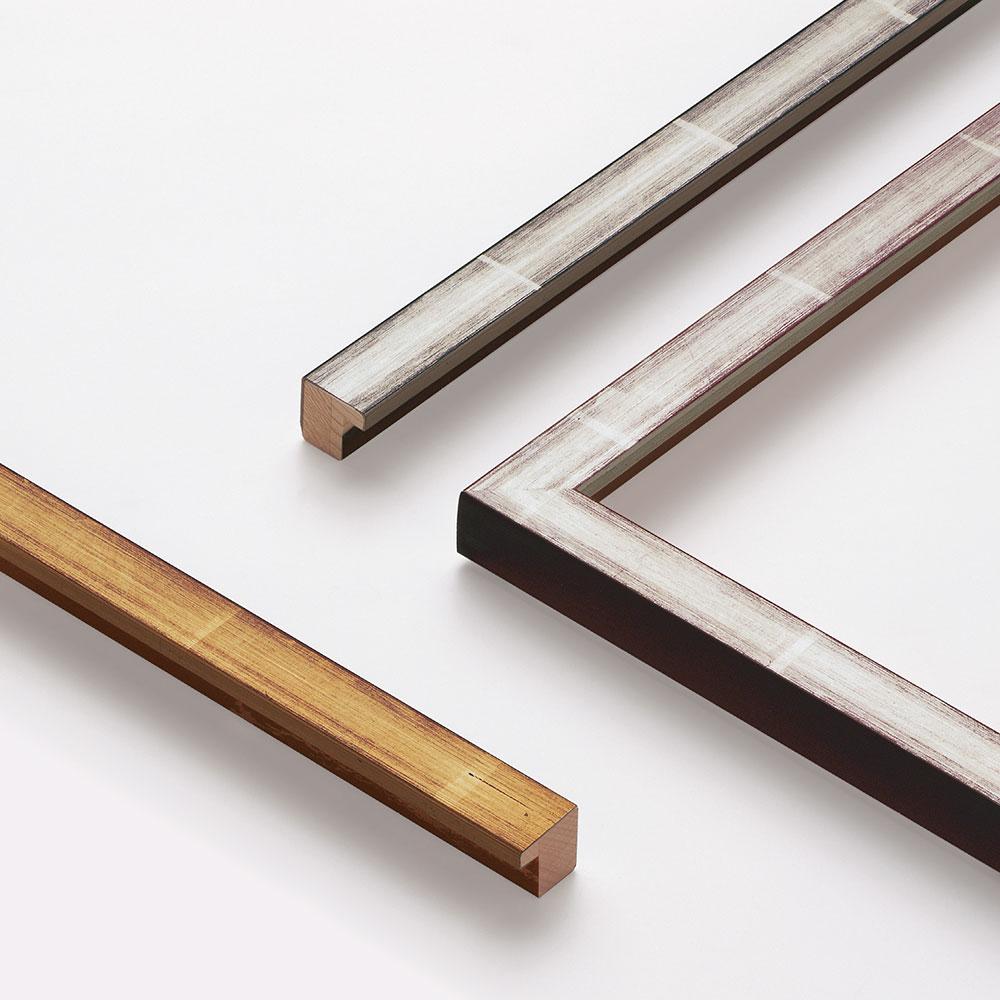 Cornice in legno su misura, Guazzo 20x22