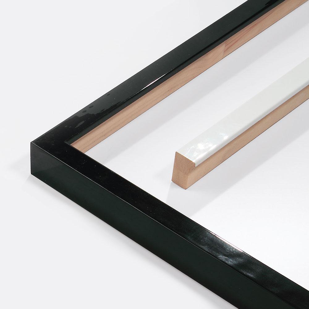 Cornice in legno su misura, Matrix B&W 20x34