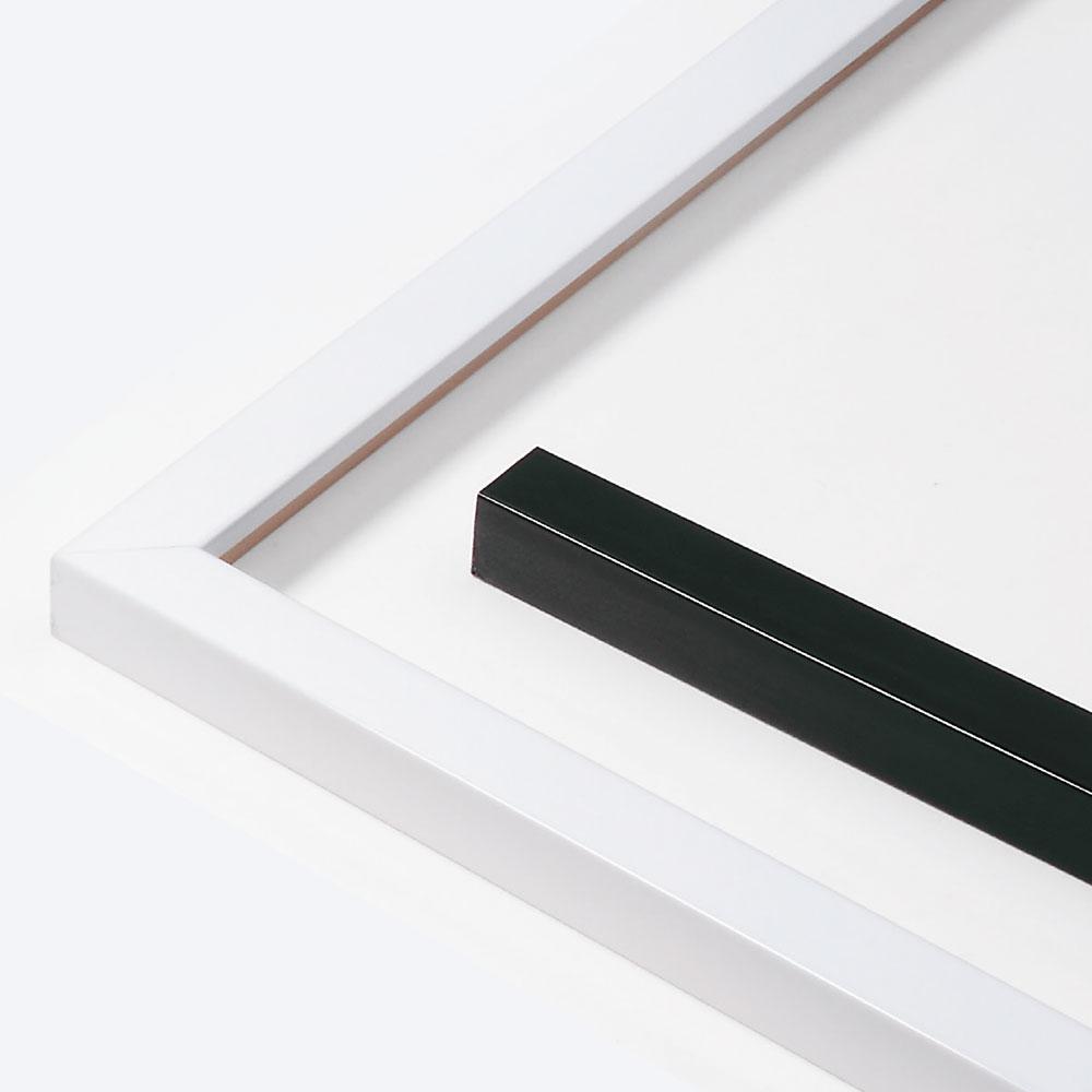 Cornice in legno su misura, Matrix B&W 20x20