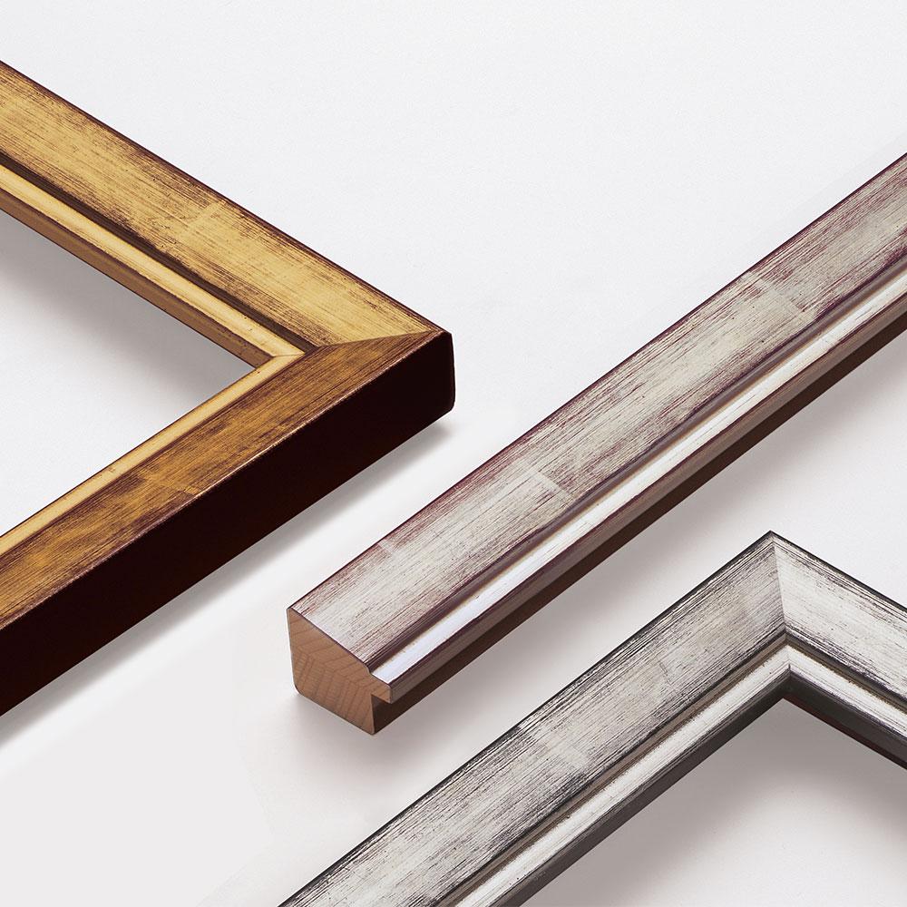 Cornice in legno su misura, Guazzo 26
