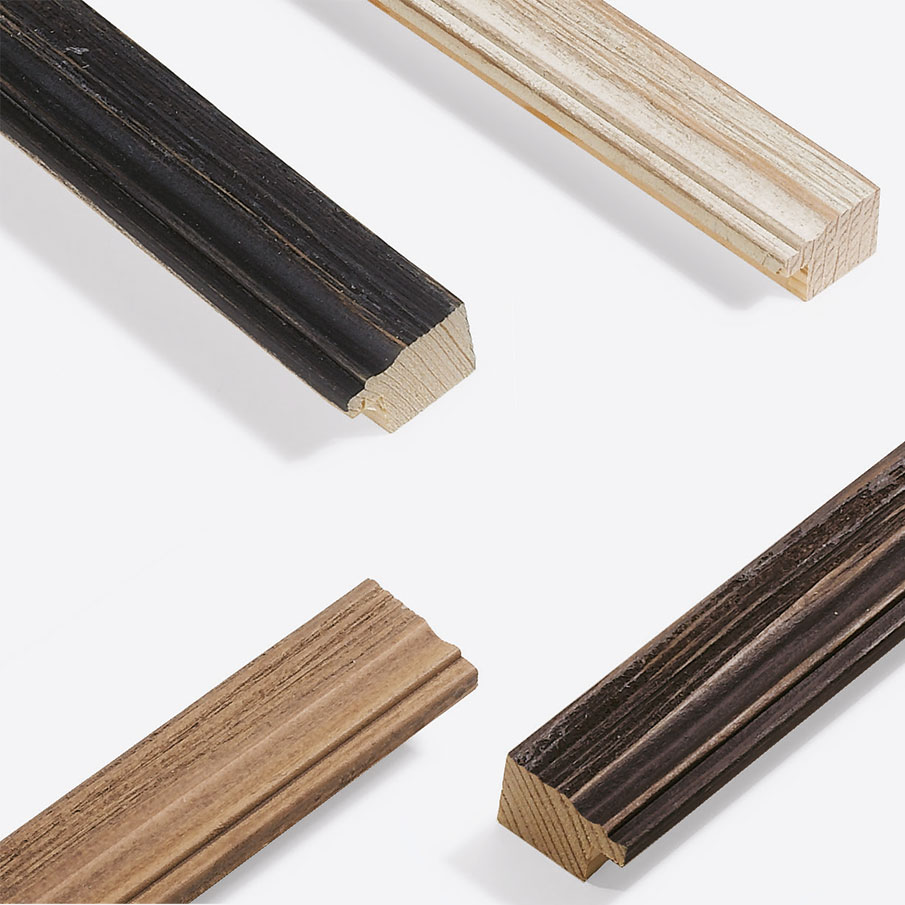 Cornice in legno su misura, Chalet 31