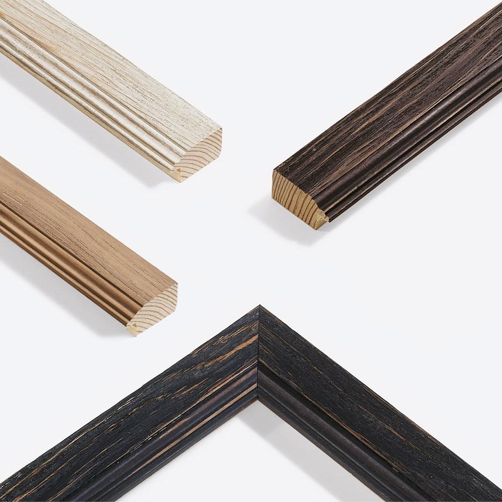 Cornice in legno su misura, Chalet 41