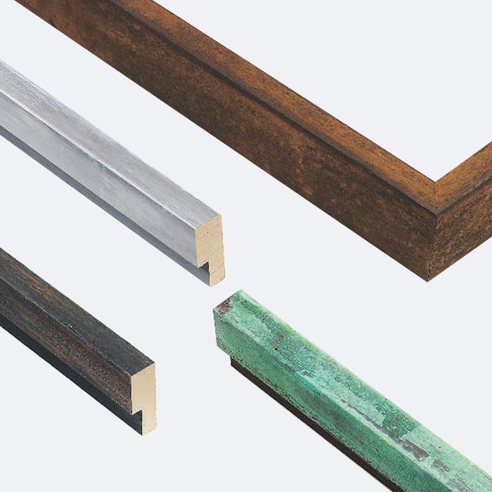 Cornice in legno su misura, Officina 20