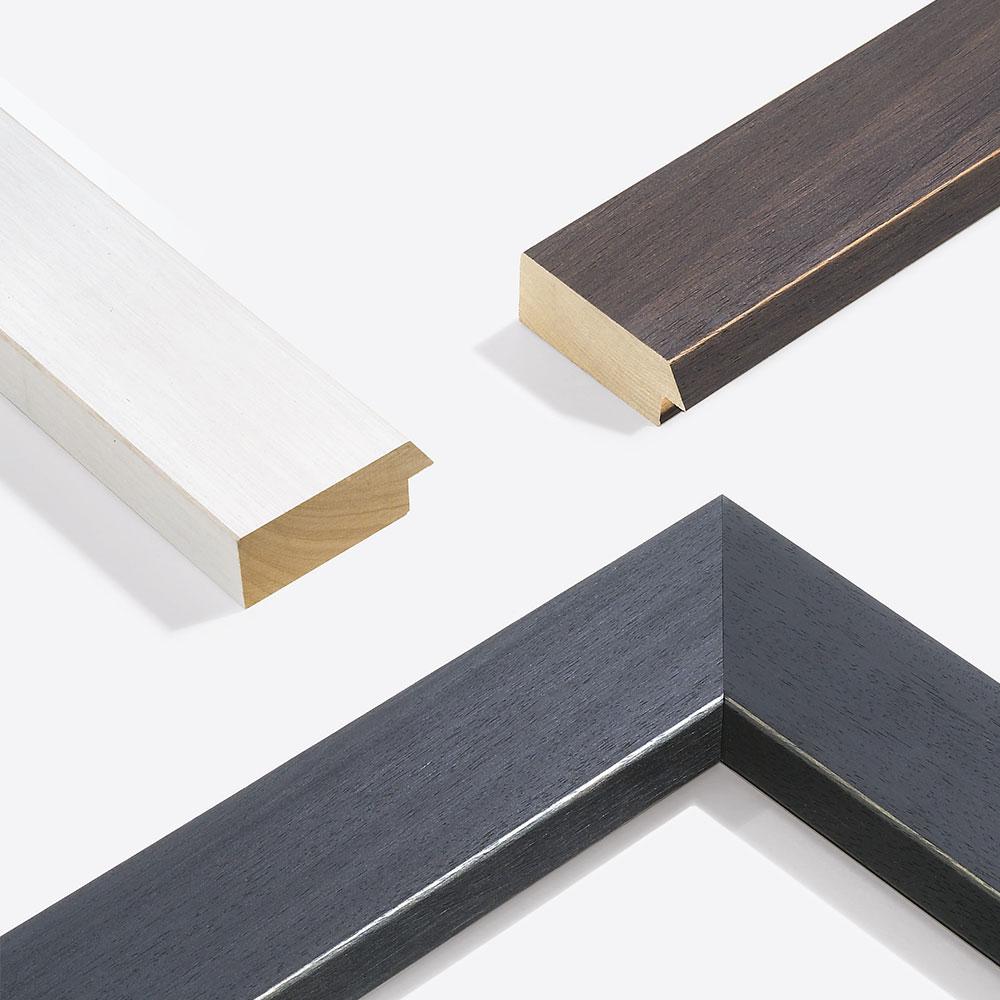 Cornice in legno su misura, Modern Shabby 75