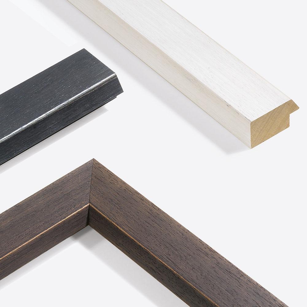 Cornice in legno su misura, Modern Shabby 50