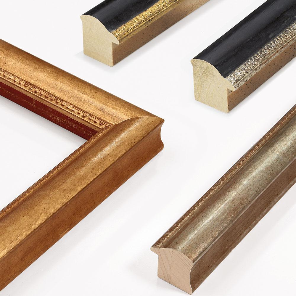 Cornice in legno su misura, Herconage 45