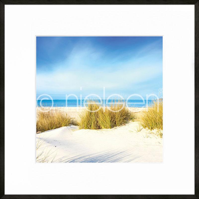 """Immagine incorniciata """"Dune"""" con cornice in alluminio C2"""