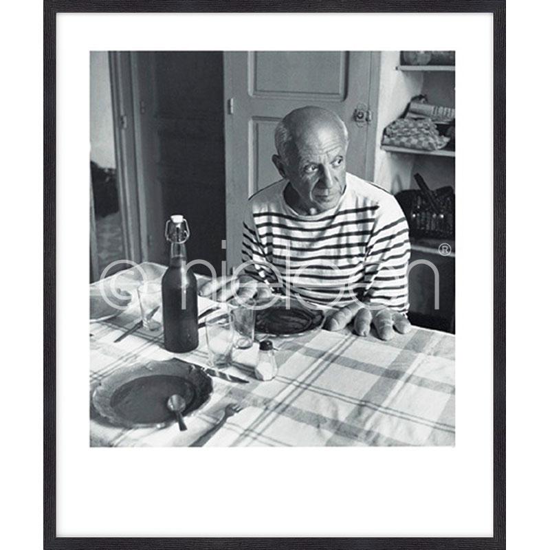 """Immagine incorniciata """"Les pains de Picasso 1985"""" con cornice in legno Quadrum"""