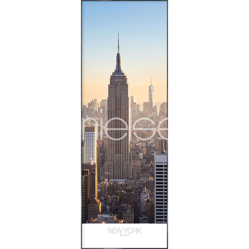 """Immagine incorniciata """"New York"""" con cornice in alluminio Alpha"""
